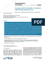 A Pervasive Sensing Approach to Automatic Assessment of Trunk Coordination Using Mobile Devices