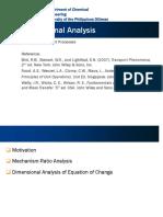 131.12 Dimensional Analysis