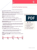 Measuring the Center Summary