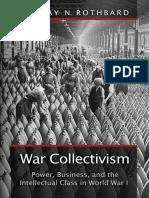 War Collectivism - Murray N. Rothbard