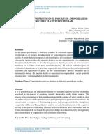 Los Conocimientos Previos en El Proceso de Aprendizaje de Contenidos Históricos