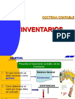 INVENTARIOS. Doctrina Contable