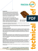 Cinnamon Processing