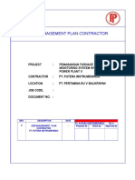 HSE Plan Contractor  Pertamina Retrofit PIN (Assesment & Trouble Shooting PC CEMS.doc