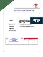 HSE Plan Contractor  Pertamina Retrofit PIN (Assesment & Trouble Shooting PC CEMS.doc