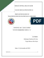 PSICOPATOLOGIA DEL AGRESOR