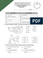 I Examen Bimestral Matematica