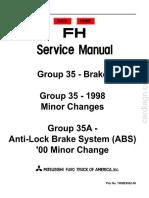 1996-2001 Fuso – Brake