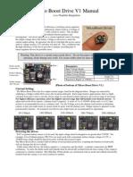 Micro Boost Drive V1 Manual