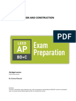 LEED AP BD+C - Abridged version