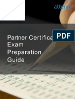 Alteryx Partner Technical Certification Guide-Feb 2019