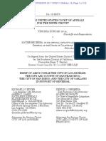 Duncan Amicus Brief of CA Cities