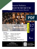 Concierto Collegium Musicum