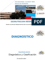 DESNUTRICON PEDIATRIA
