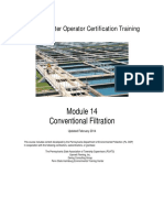 Conventional filtration