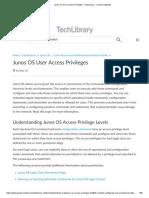 Junos OS User Access Privileges - TechLibrary - Juniper Networks.pdf