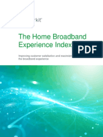 IHS Markit White Paper Home Broadband Experience Index