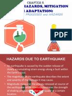Geologic processes and hazars