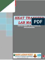 Ht Lab Manual Final 2018-19