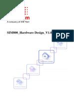 Sim800 Hardware Design v1.09