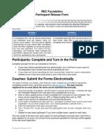 Participant Release Form