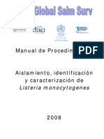 Listeria Manual Del Malbran