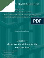 Bulding Construction (CE3G)-  Cracks.ppt