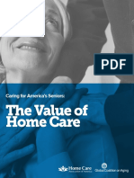 Value of Home Care SECURED