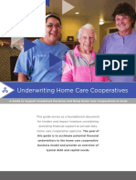Underwriting Home Care Cooperatives