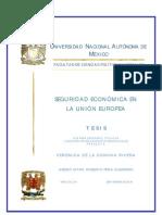 TESIS VCR Seguridad Económica en la Unión Europea