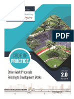 LTA Code of Practice Street Work Proposals to Development Works (Ver. 2019)