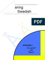 Discovering Swedish