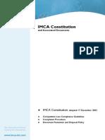 IMCA Constitution