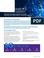 Unlocking the Benefits of 5g for Enterprise Customers