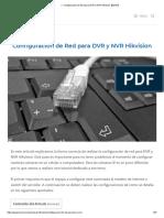 ▷ Configuración de Red para DVR y NVR Hikvision【2019】