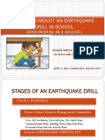 Earthquake Drill 3