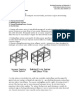 Earthquake Resisting System Class Notes