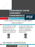 Fundamental Duties Comlement Fundamental Rights
