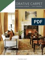 The Decorative Carpet by Alix G. Perrachon - Excerpt