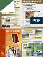 Carátula Revista Por Vocación