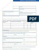Student Application FormV4