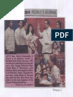 Peoples Journal, July 23, 2019, Leyte Rep. Martin, Rumualdez is sworn in as Majority leader.pdf