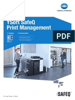 YSoft SafeQ Output Management Datasheet