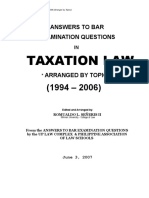 Taxation Law 1994-2006
