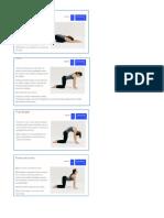 Estiramientos Con Yoga