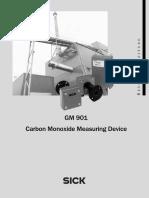 3 GM901 Carbon Monoxide Measuring Device User Instructions