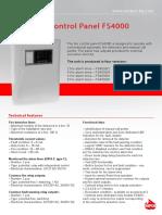 Unipos Fire Alarm Panel