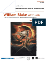 Dossier de Presse William Blake