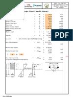 Base Slab Design - Culvert