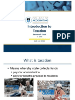 Introduction to Taxation-UCT